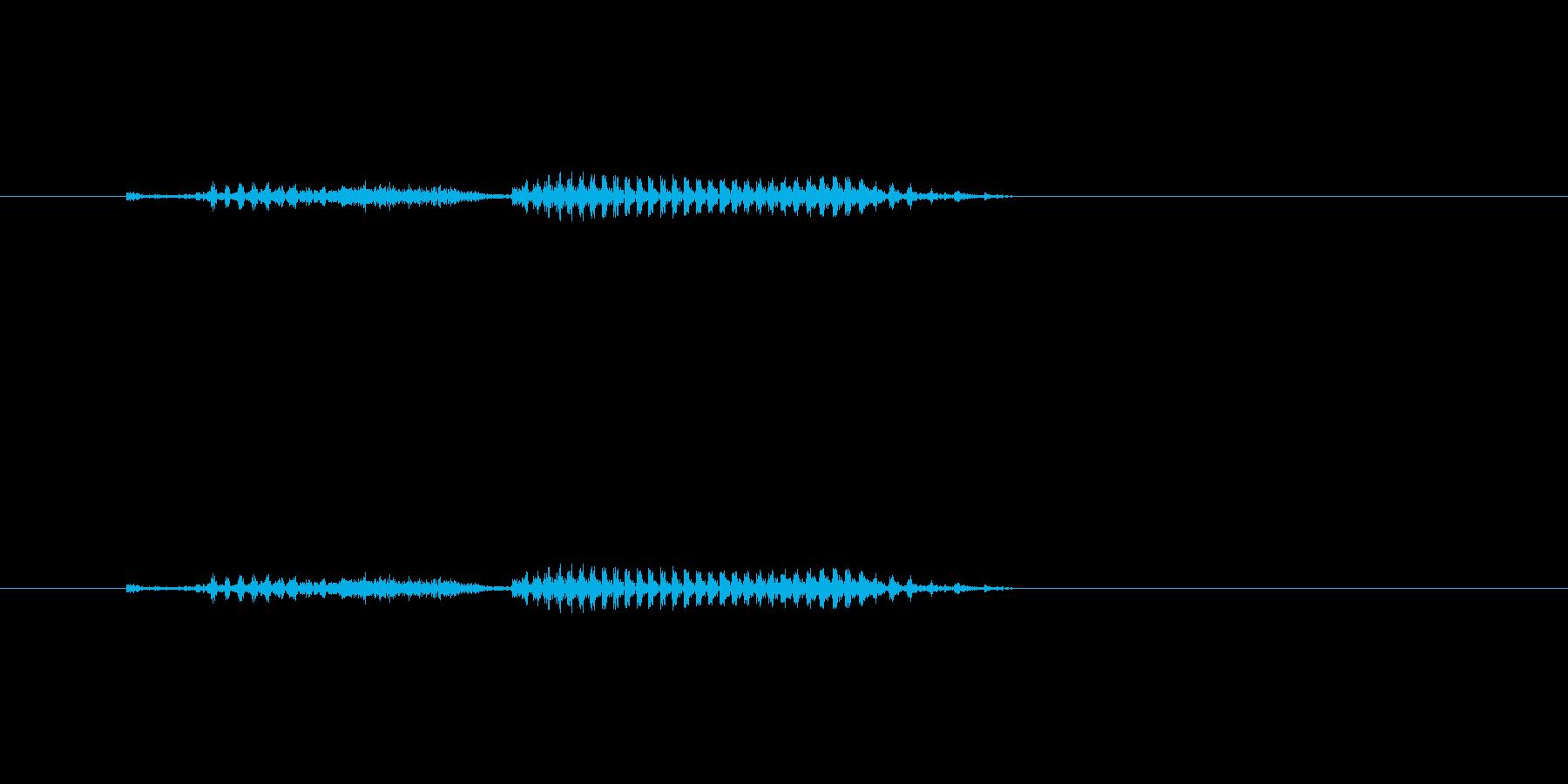 火星の再生済みの波形