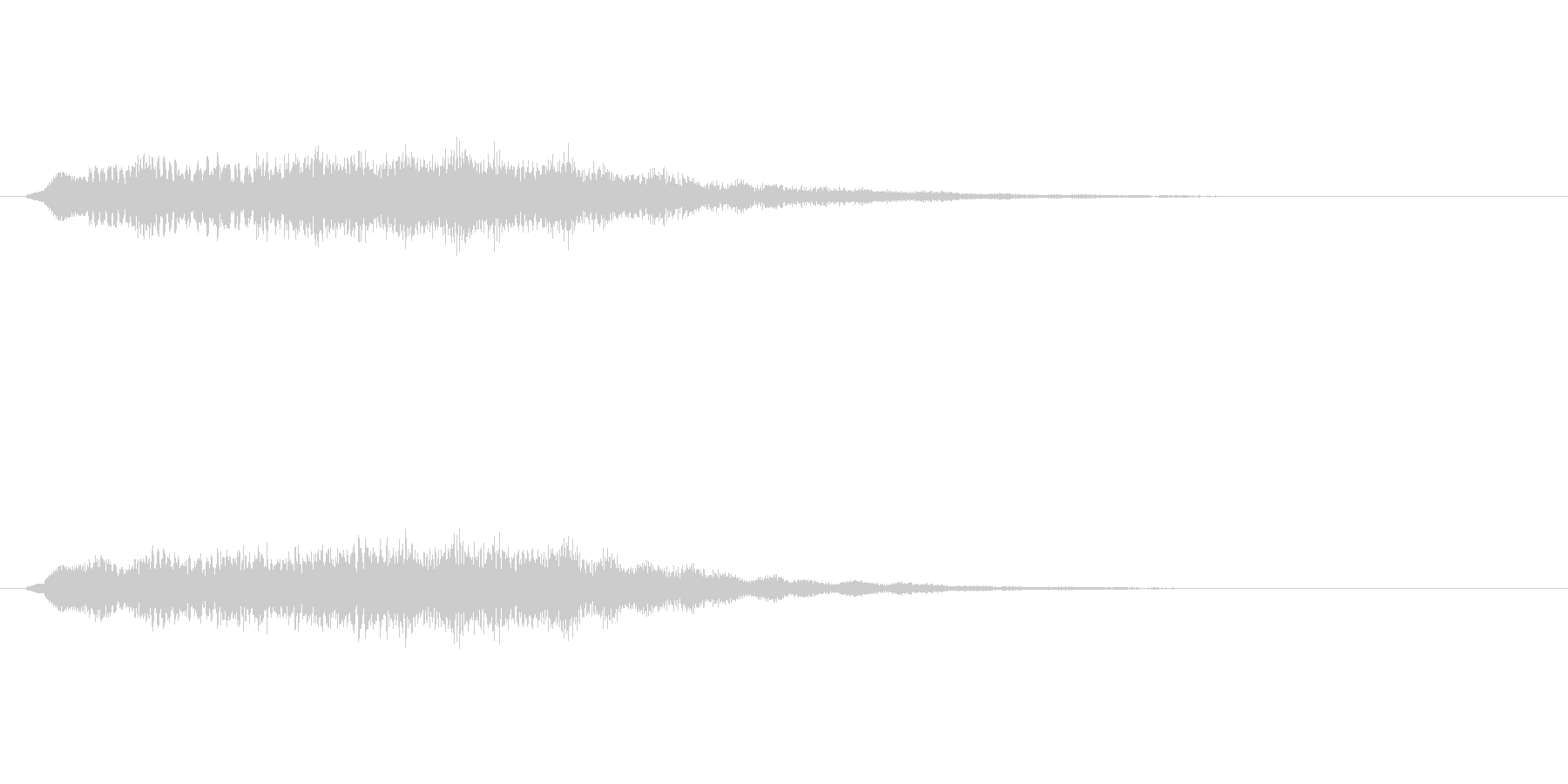 【ショートブリッジ27-07】の未再生の波形
