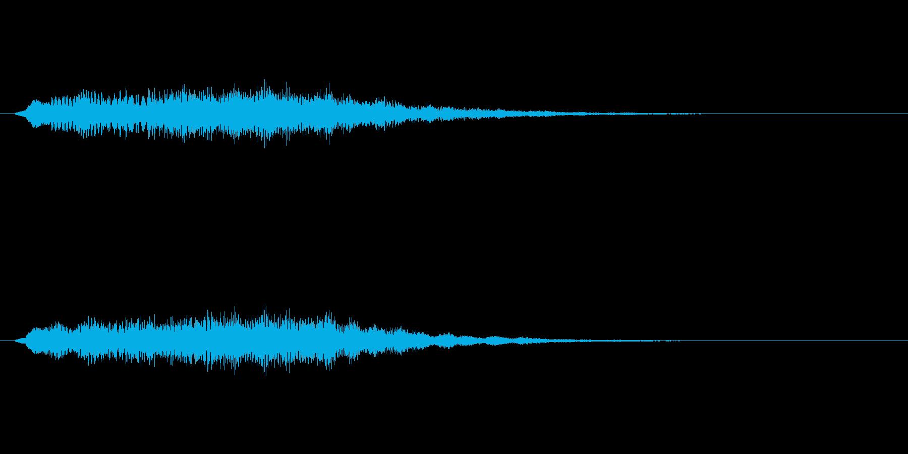 【ショートブリッジ27-07】の再生済みの波形