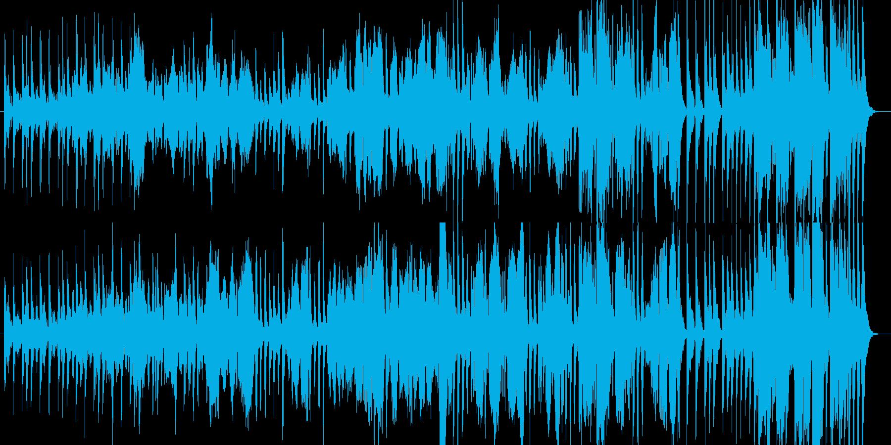可愛らしい行進曲の再生済みの波形