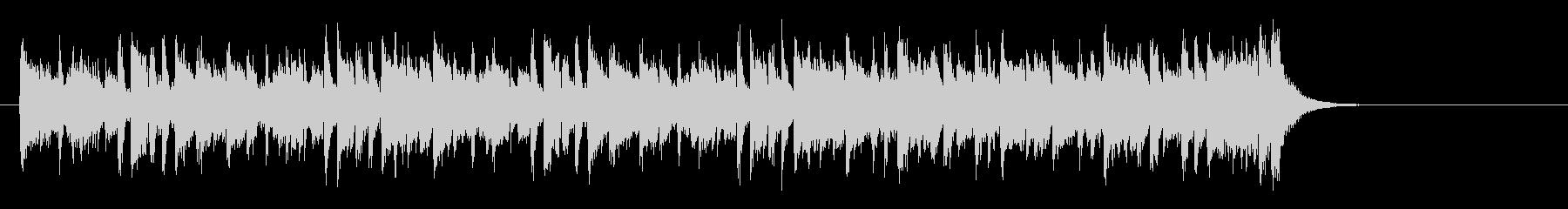 夜のピアノフュージョン(サビ)の未再生の波形