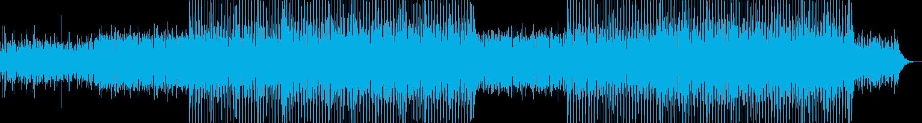 ニュース映像ナレーションバック向け-20の再生済みの波形
