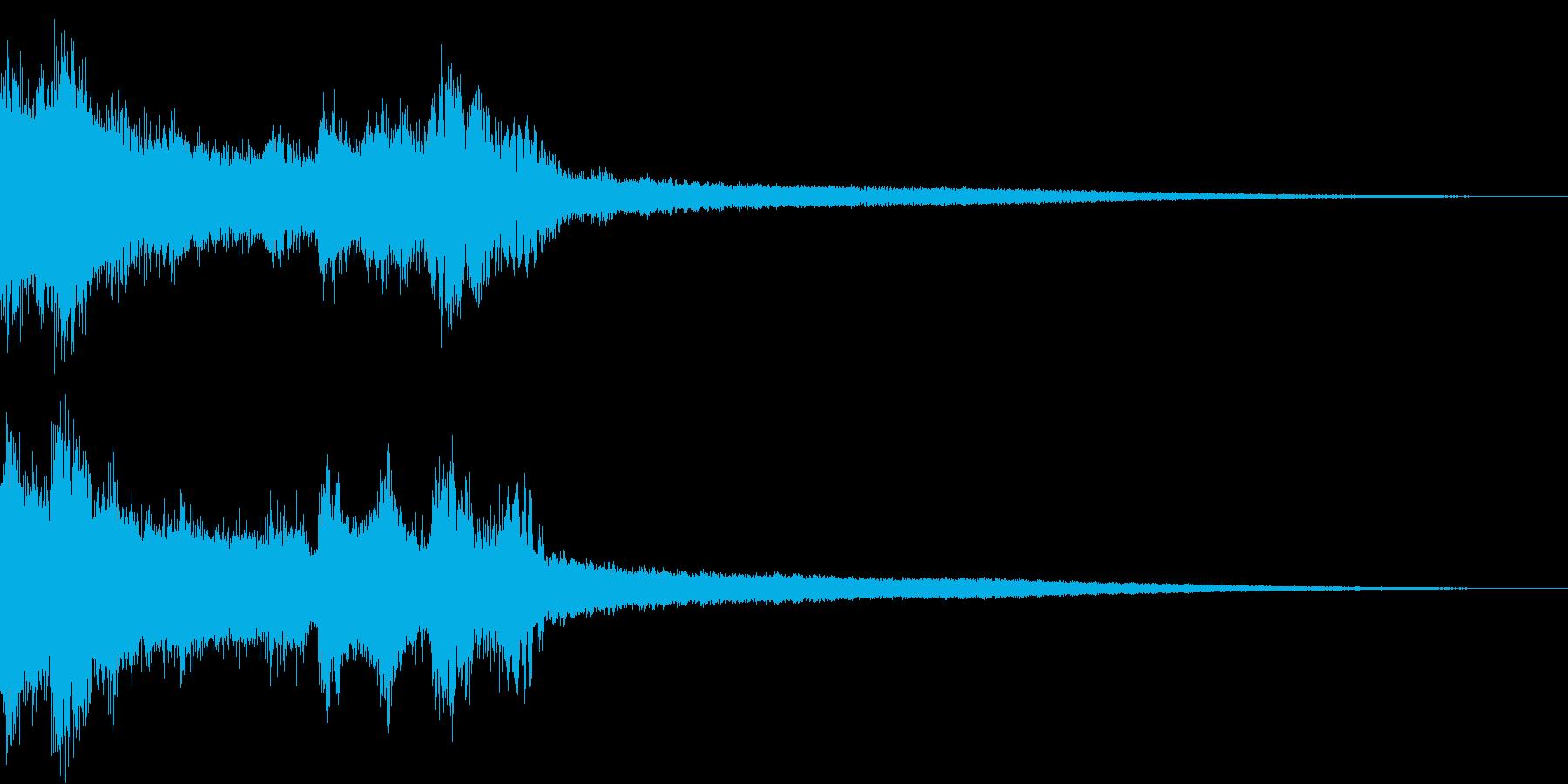 チャイナ 中国 インパクト ジングル16の再生済みの波形