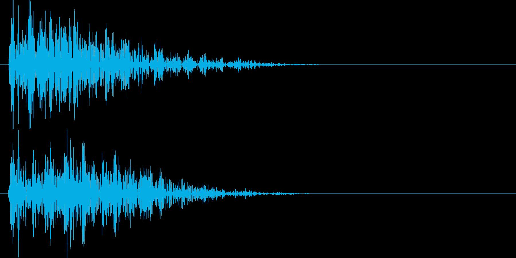ドゥーン、、ジリジリジリ(地響き)の再生済みの波形