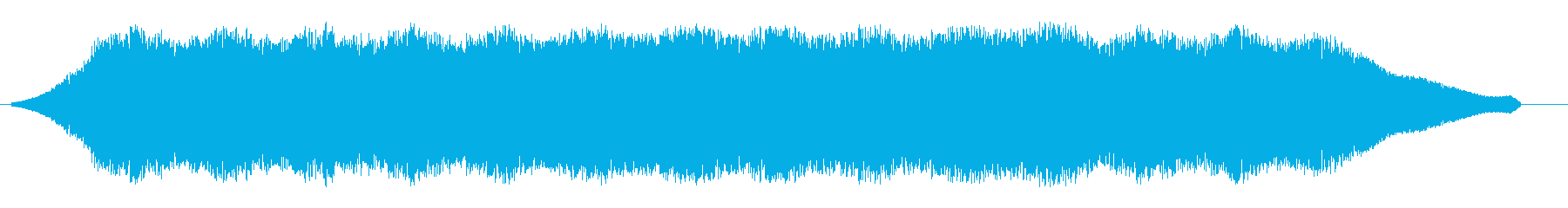ビウィウィウィ(強めのUFO飛行音)の再生済みの波形