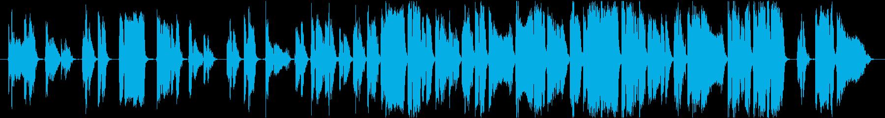 アメイジング グレイス透明感ある歌声の再生済みの波形
