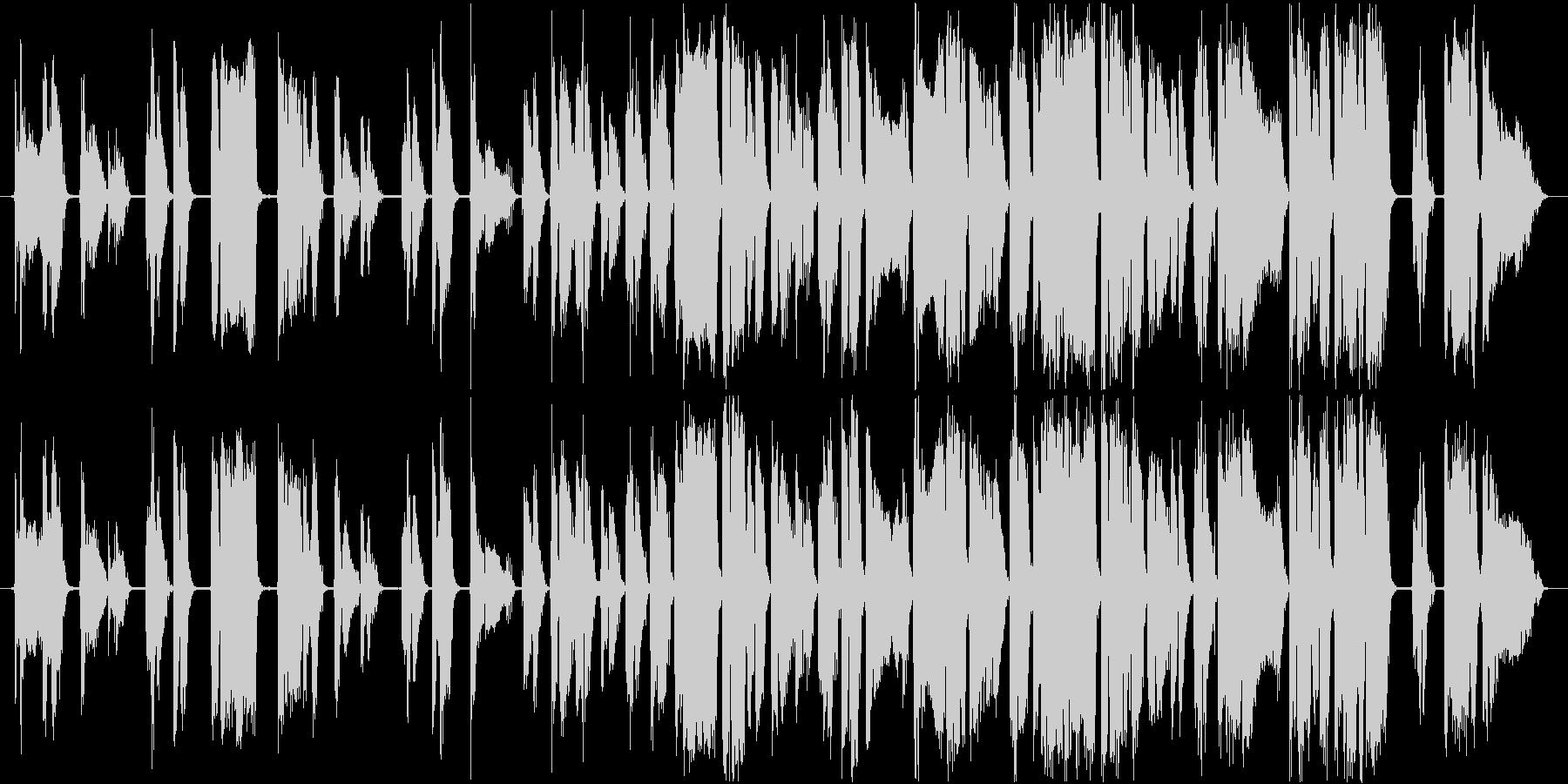 アメイジング グレイス透明感ある歌声の未再生の波形