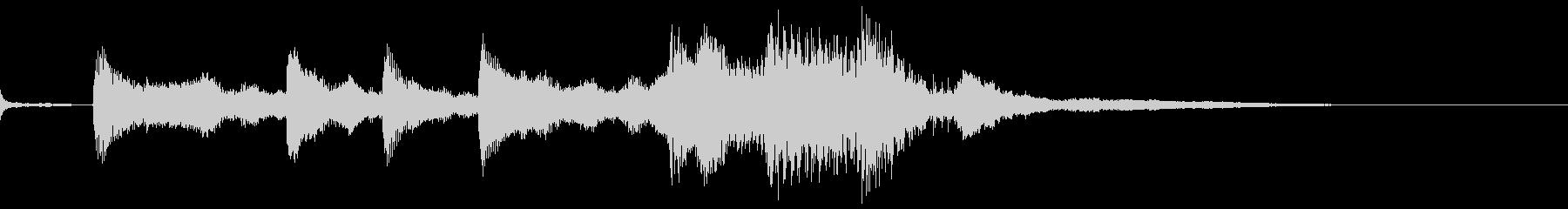 ハロウィン系ジングル2の未再生の波形