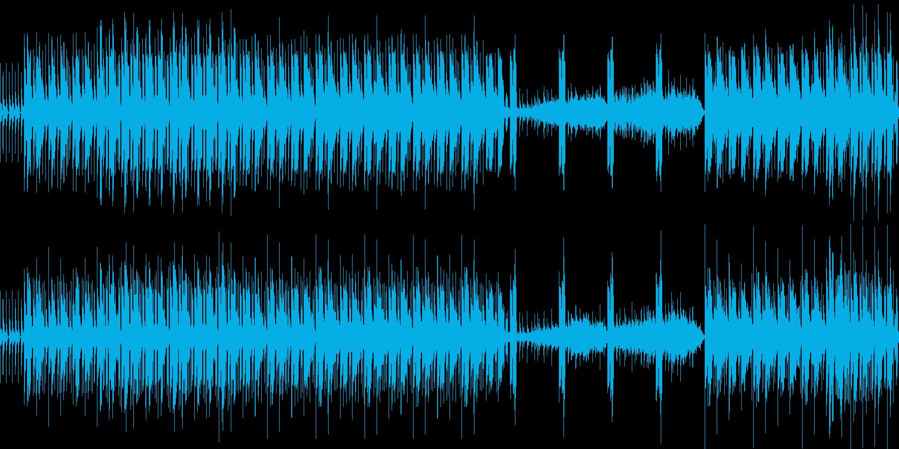 物事が展開した時のBGMの再生済みの波形