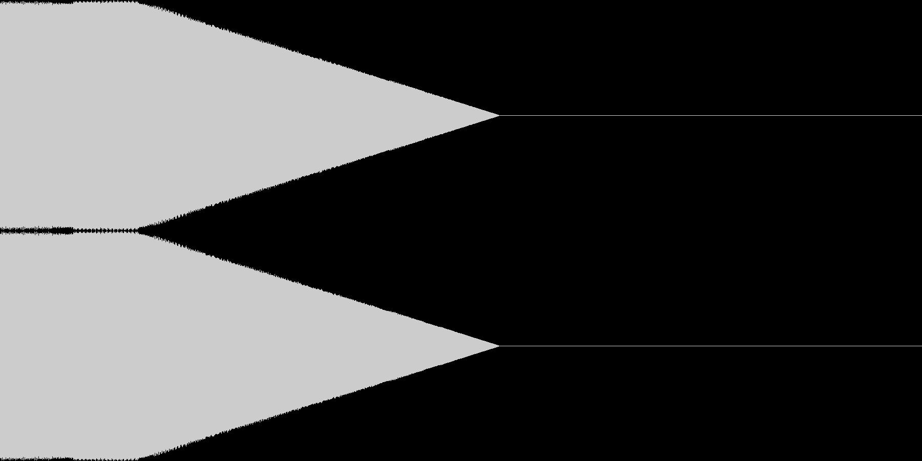 決定音・選択音・入手音【6】の未再生の波形