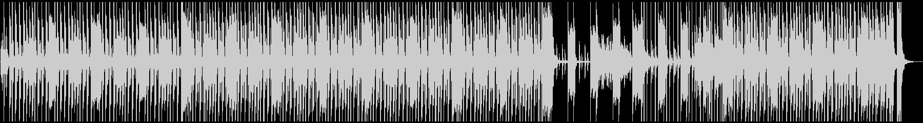 軽快・コミカルなBGMの未再生の波形