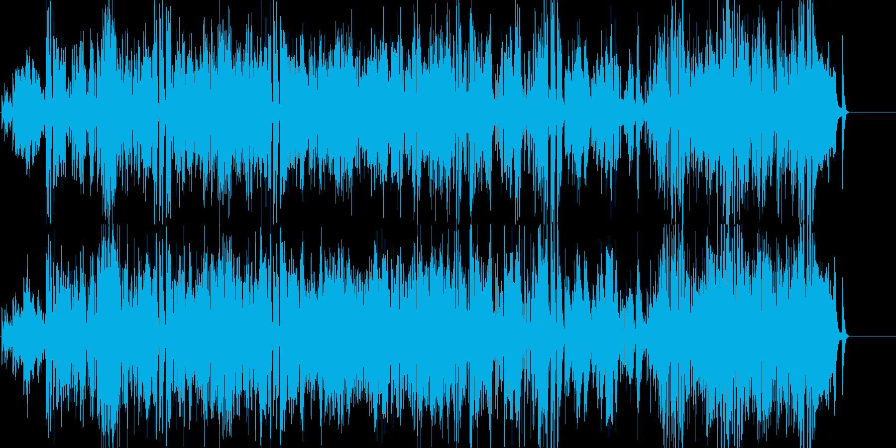 JAZZトリオ♪お洒落CaféBGM風の再生済みの波形