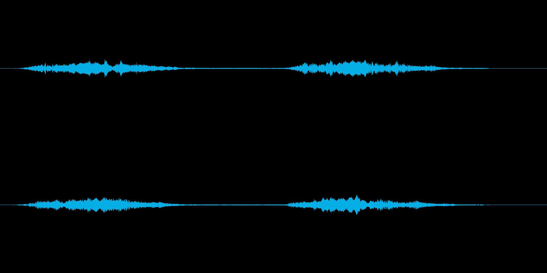 (鳴き声)の再生済みの波形