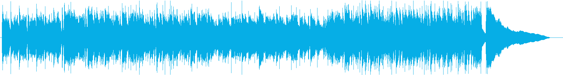 アコギが中心の穏やかな曲_ワンコーラス1の再生済みの波形