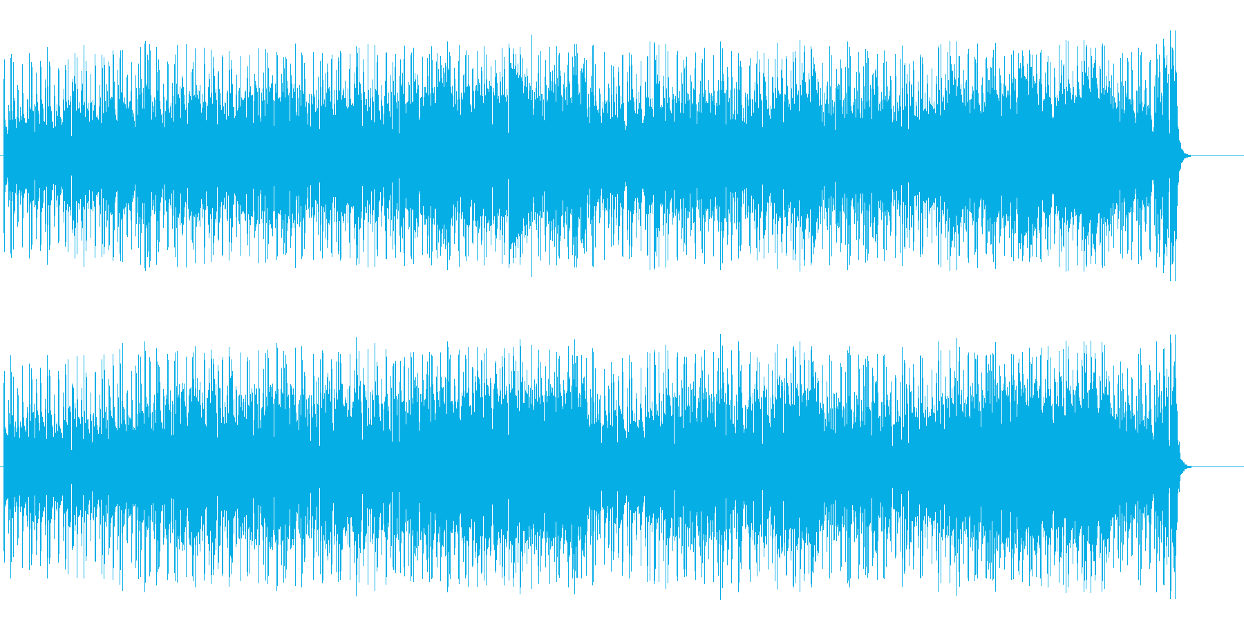 家庭的な雰囲気の明るいポップ/BGの再生済みの波形