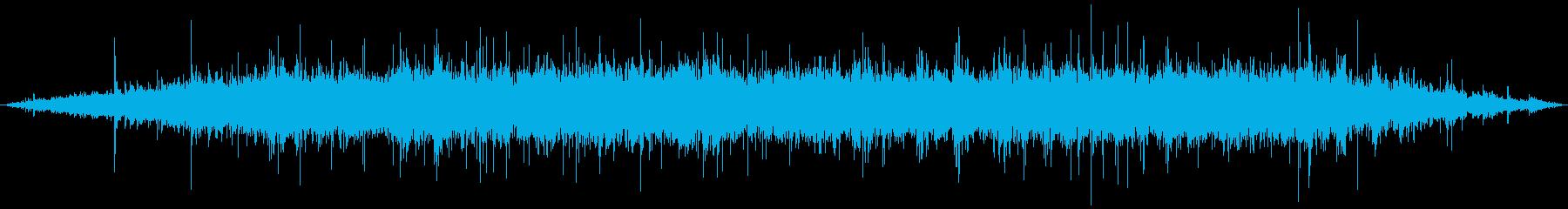 ジュゥゥゥ+パチパチ(焼く)の再生済みの波形