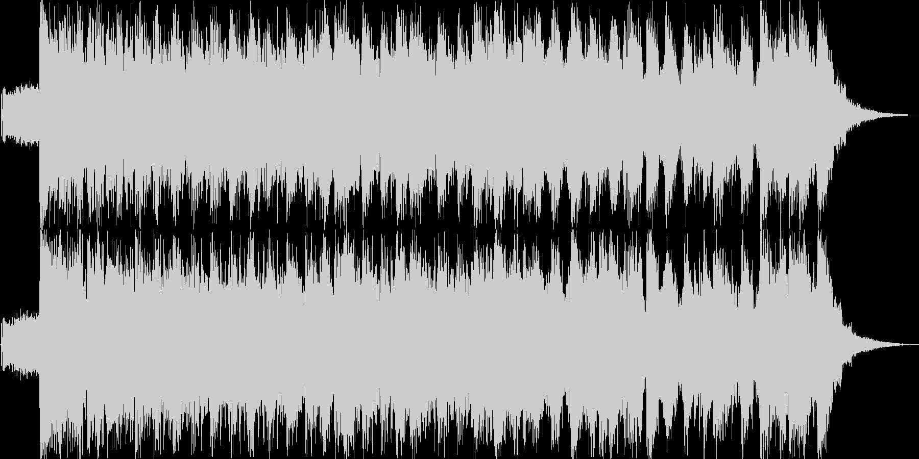 アゲアゲダンス風ジングル20秒の未再生の波形