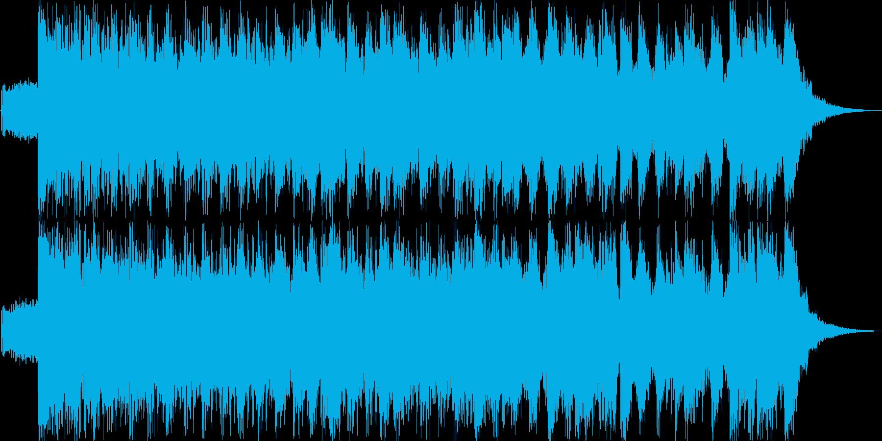 アゲアゲダンス風ジングル20秒の再生済みの波形