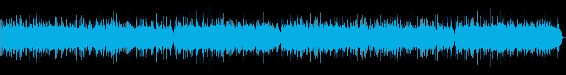 【オルゴール】スタッフロールエンドロールの再生済みの波形
