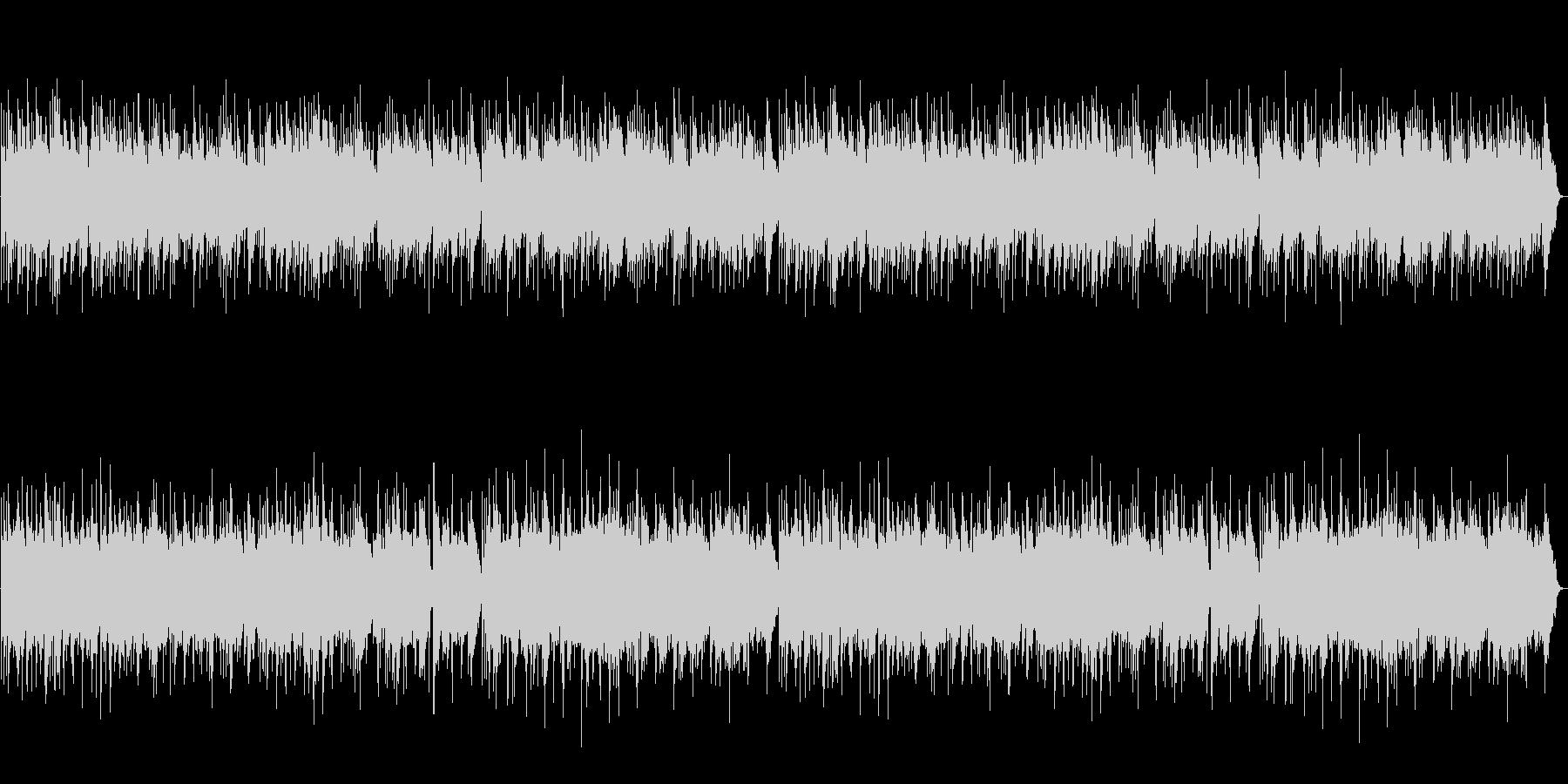 【オルゴール】スタッフロールエンドロールの未再生の波形