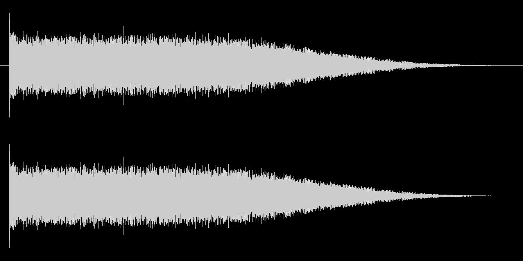 ロック風の登場出現音に最適エレキギター音の未再生の波形