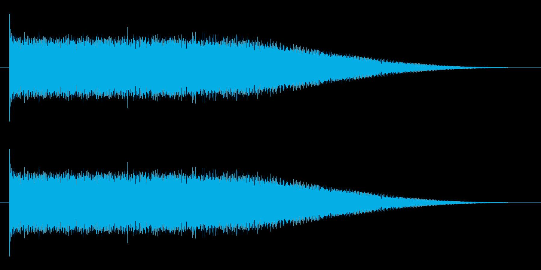 ロック風の登場出現音に最適エレキギター音の再生済みの波形