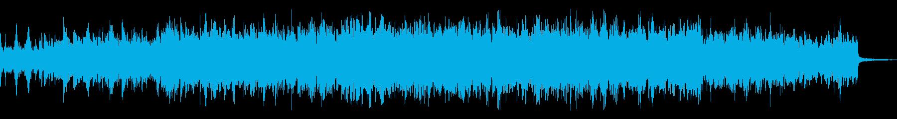 ドラマ、映画のサスペンス部分の曲の再生済みの波形