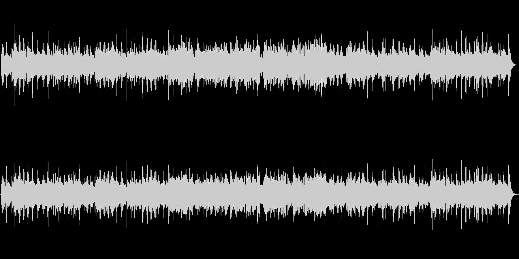 何かが始まる感動のオーケストラBGMの未再生の波形