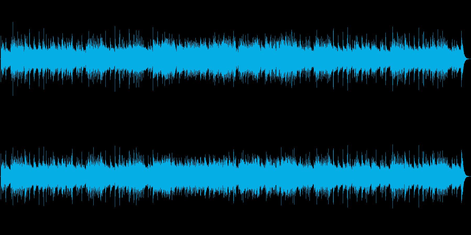 何かが始まる感動のオーケストラBGMの再生済みの波形