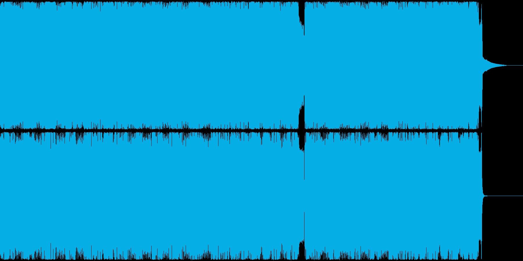 切なめロックの再生済みの波形