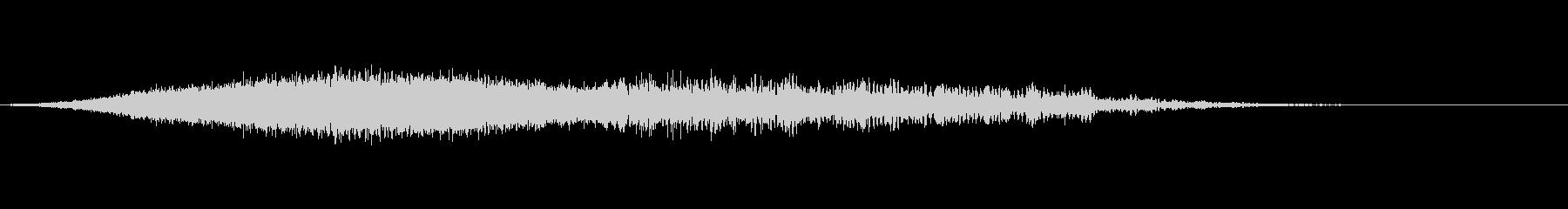サウンドロゴ ライジングの未再生の波形