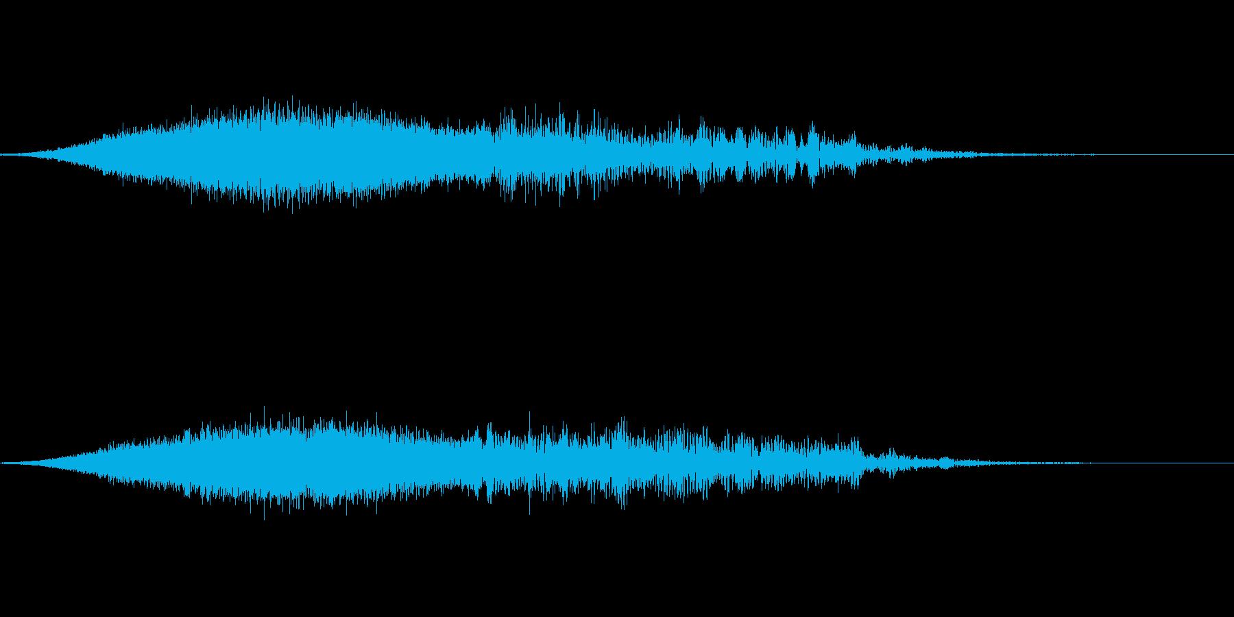 サウンドロゴ ライジングの再生済みの波形