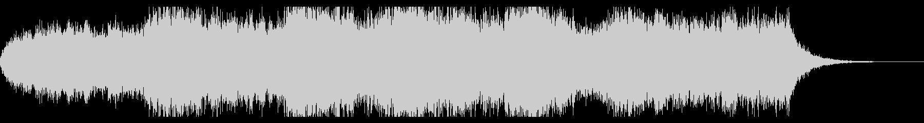 ダークファンタジーなオープニングBGMの未再生の波形