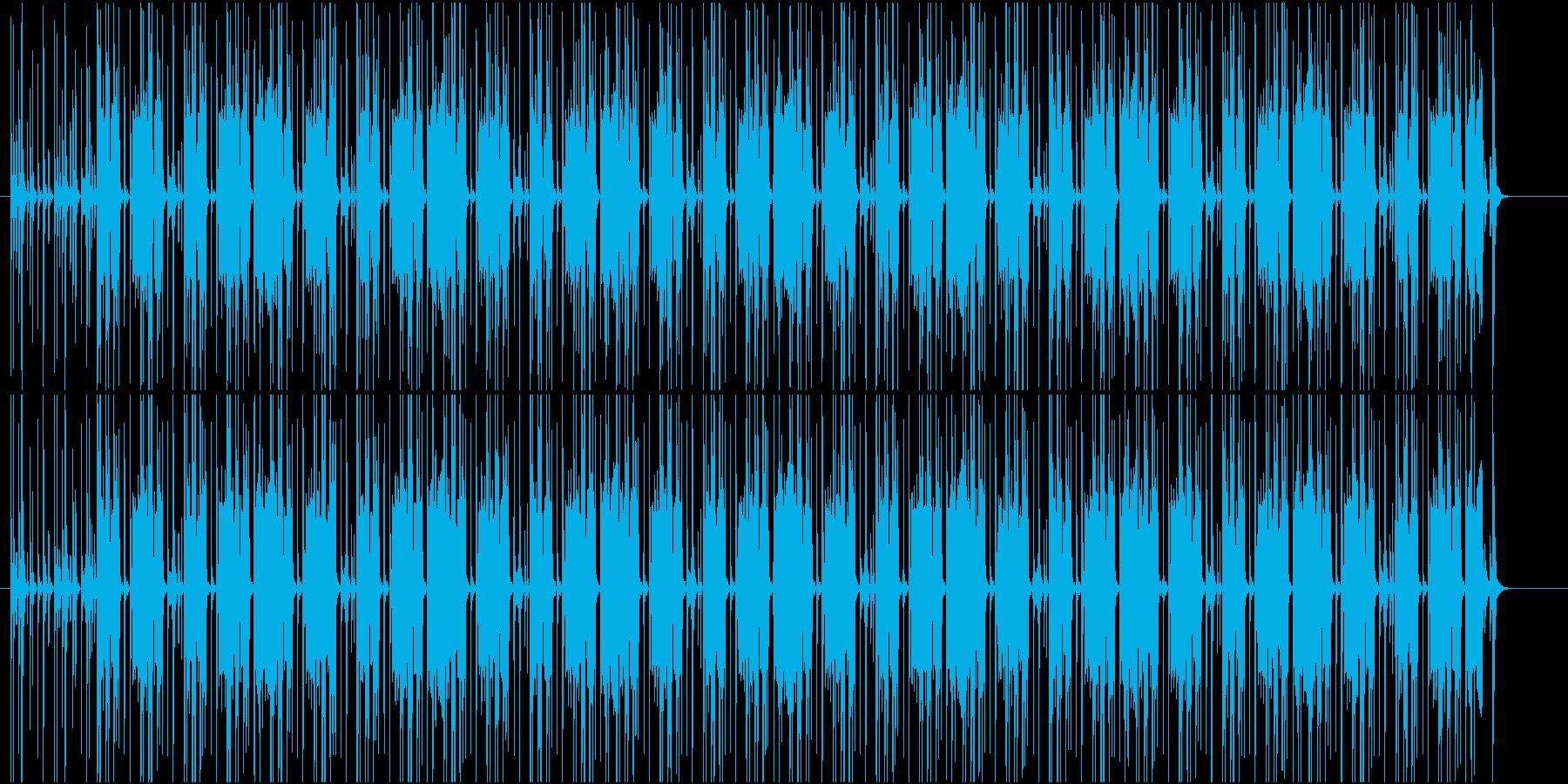 探検をイメージした軽快なラテンの再生済みの波形