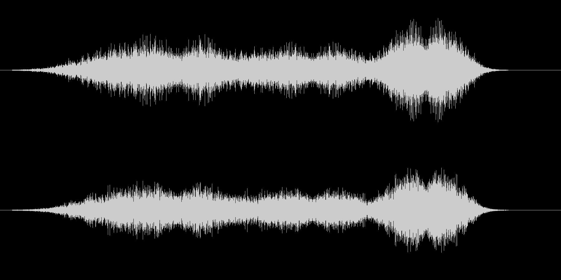 【SE 効果音】風(ホラー)2の未再生の波形