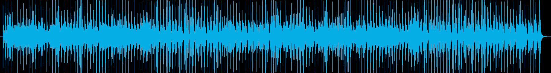 ほのぼのとした日常を彩るBGMの再生済みの波形