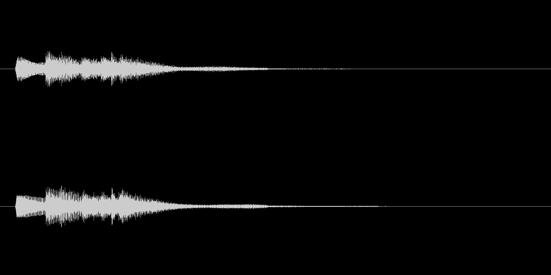 琴の上昇、グリッサンド、アルペジオの未再生の波形