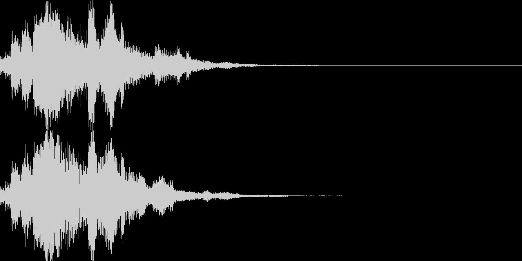 システム音05_シンセ(和風)の未再生の波形