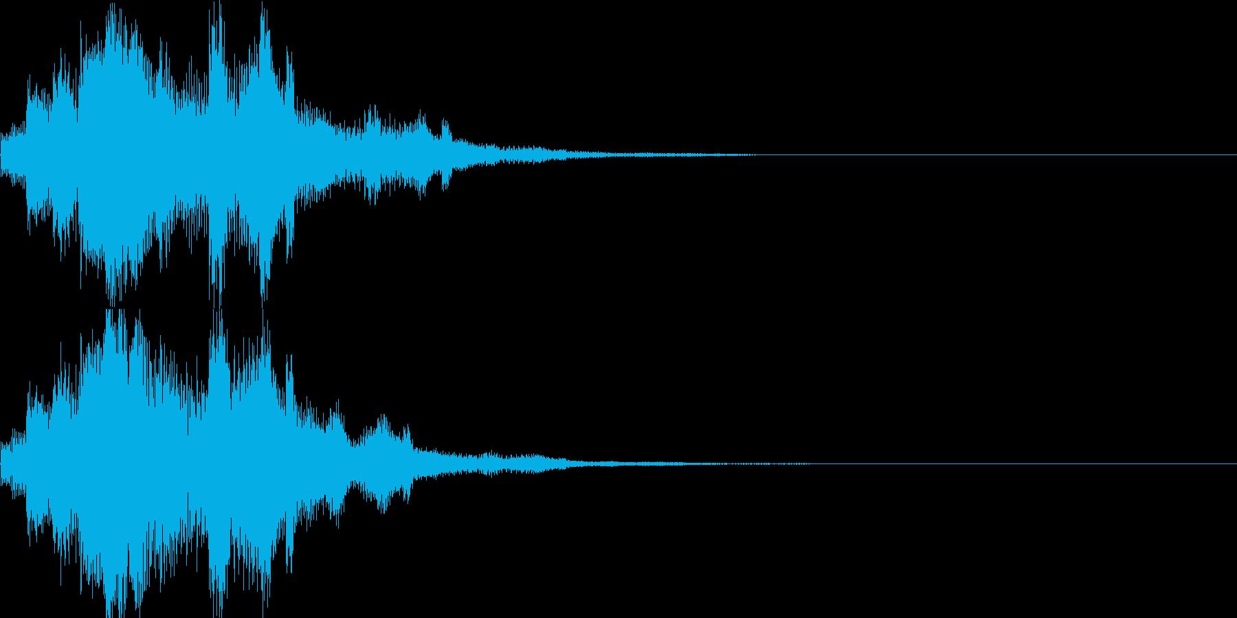 システム音05_シンセ(和風)の再生済みの波形