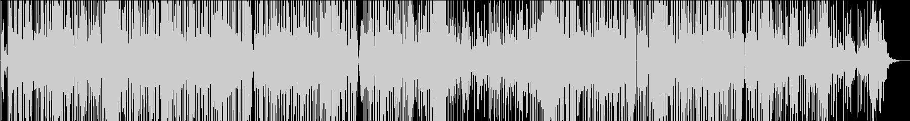 トロピカルなシンセを使ったシンセロックの未再生の波形
