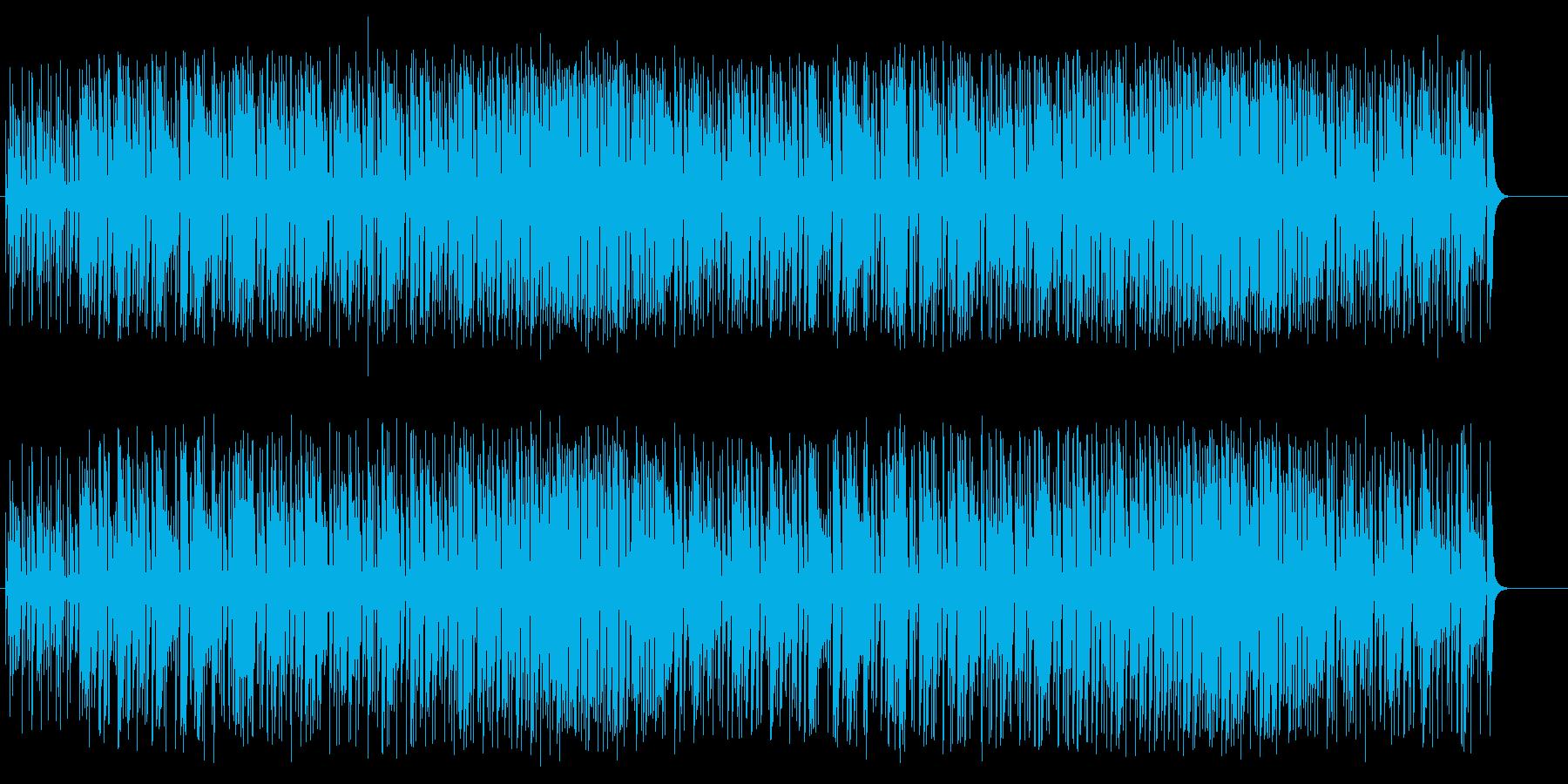 束の間の休日を満喫する明るいラテン/BGの再生済みの波形