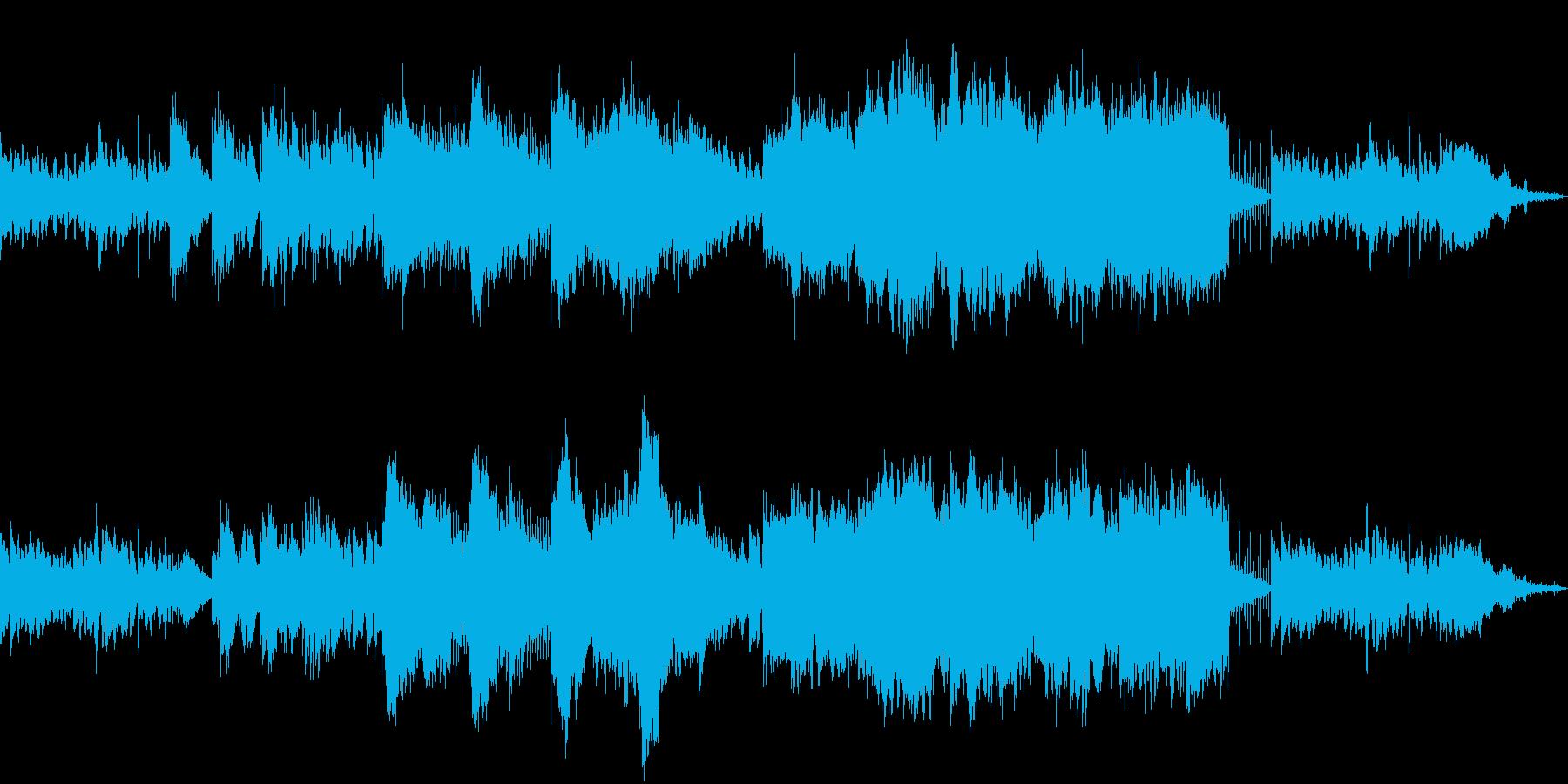 切ない片思いソングのポップ・セミバラードの再生済みの波形