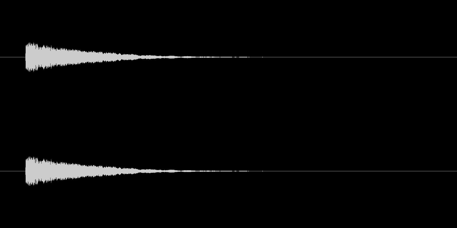 【ひらめき07-2】の未再生の波形