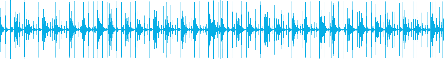 インドパーカッション スローの再生済みの波形