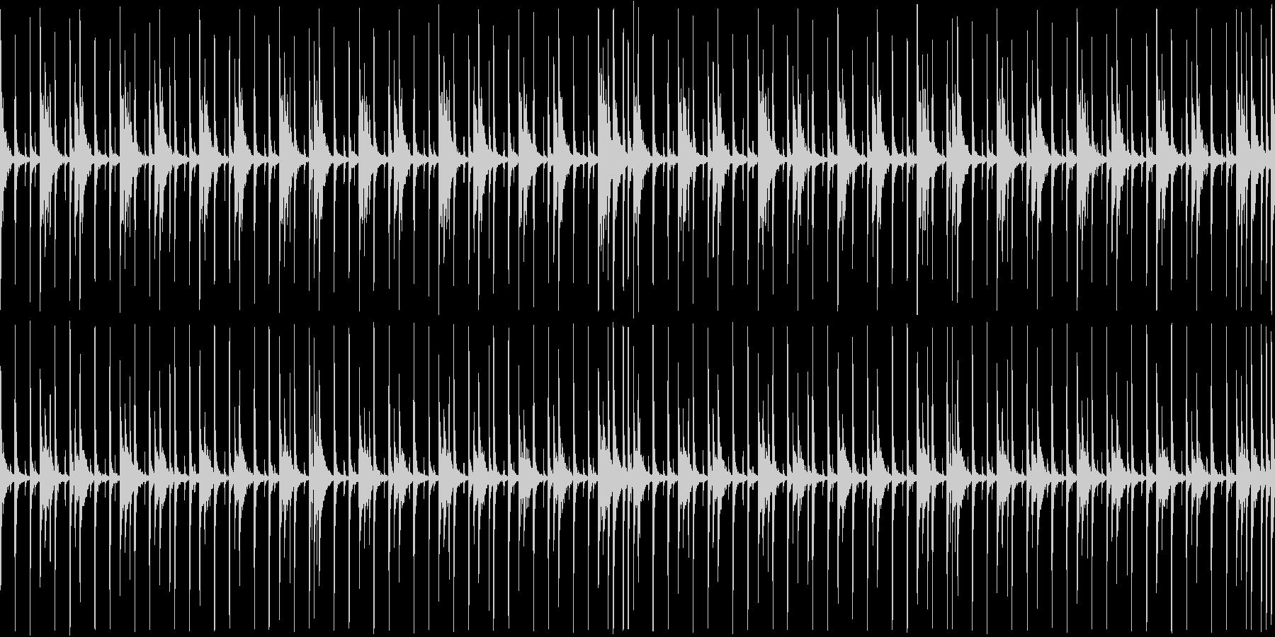 インドパーカッション スローの未再生の波形