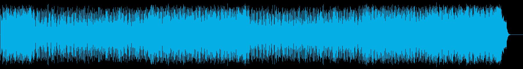 心弾む可愛らしいポップ(フルサイズ)の再生済みの波形