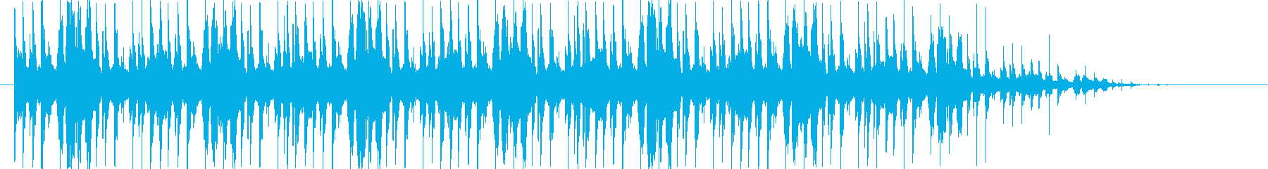 ゲームのホーム画面中などのBGMです。の再生済みの波形