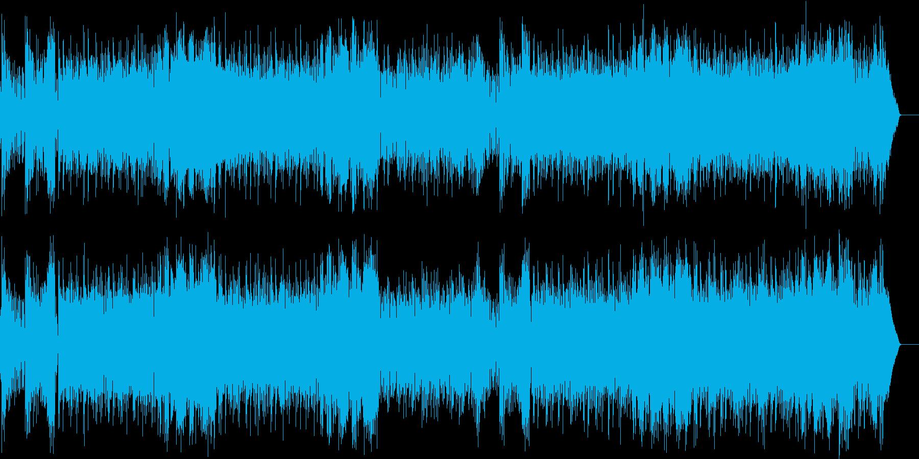 シャープな70's風クロスオーバー路線の再生済みの波形