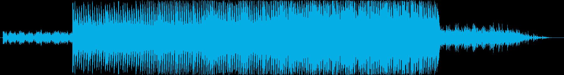 企業VPに最適な自然で前向きなBGMの再生済みの波形