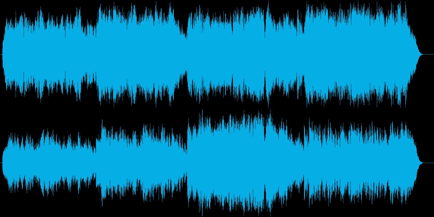 ゆったりとした木管の為の曲です。の再生済みの波形